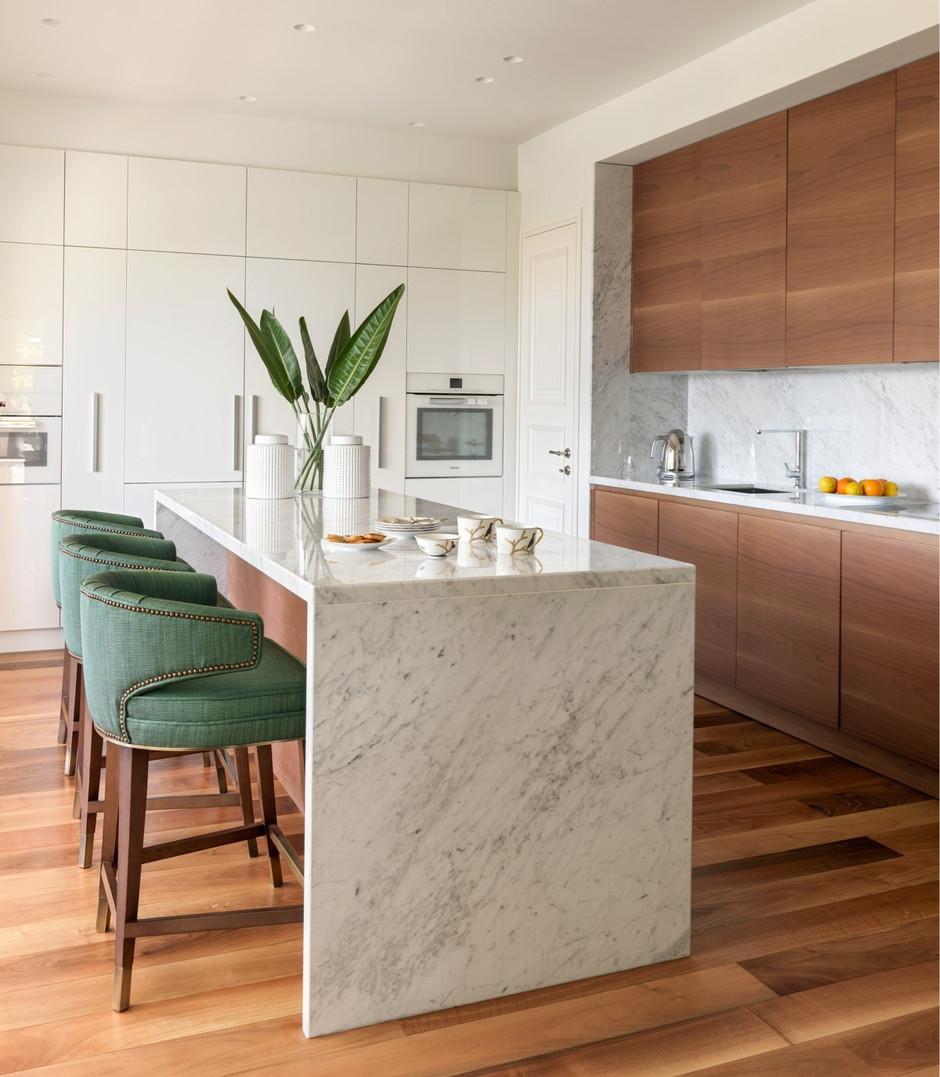 Барная стойка на кухне: 20 идей (галерея 0, фото 1)