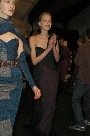 Показ Carolina Herrera коллекции сезона Осень-зима 2009-2010 года prêt-à-porter - www.elle.ru - Подиум - фото 89377