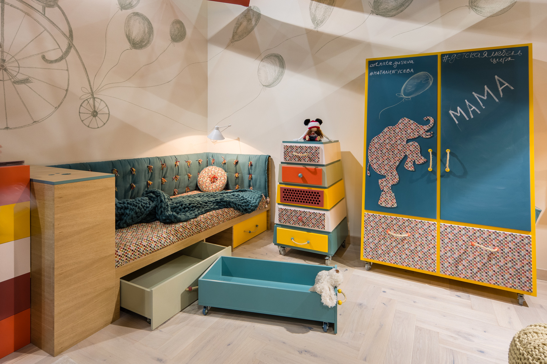 Веселые ребята: детская мебель дизайнера Натальи Гусевой (галерея 8, фото 5)