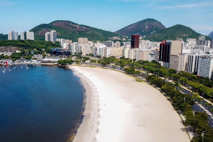 Как выглядит опустевший Рио-де-Жанейро (фото 1)