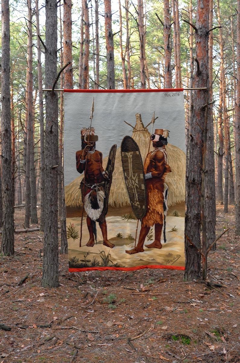 Украинские килимы и пикачу: художник Оксана Левченя (галерея 12, фото 1)