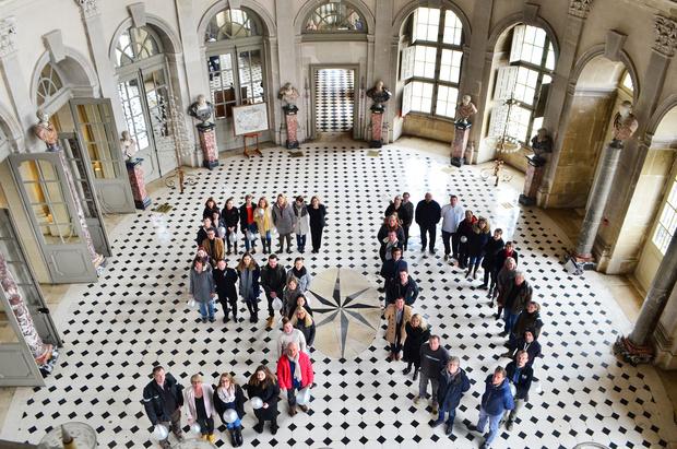 50 лет со дня открытия дворца Во-ле-Виконт (фото 0)