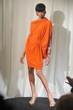 Показ Dominique Sirop коллекции сезона Весна-лето 2009 года Haute couture - www.elle.ru - Подиум - фото 86511