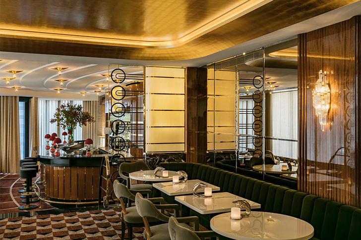 Золотой век: обновленный ресторан La Maison Du Caviar в Париже (фото 3)