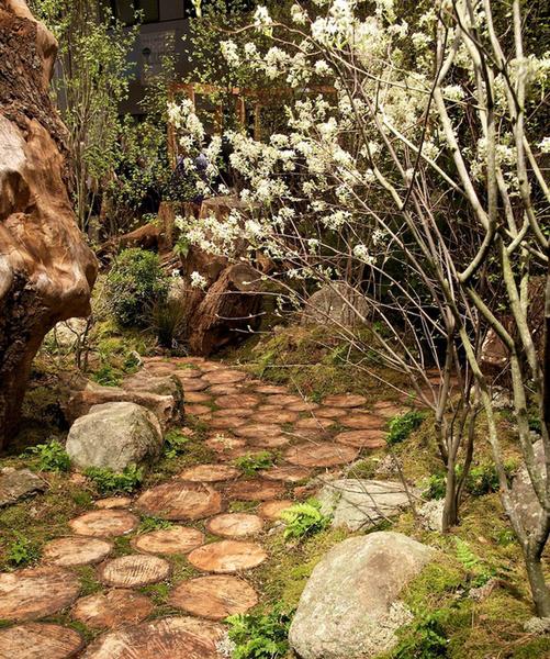 Садовые дорожки: практичные советы | галерея [4] фото [8]