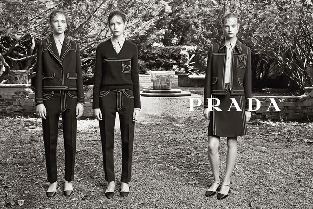Одежда от Prada