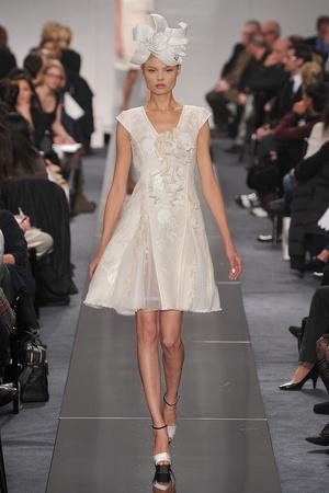 Показ  коллекции сезона Весна-лето 2009 года Haute couture - www.elle.ru - Подиум - фото 86340