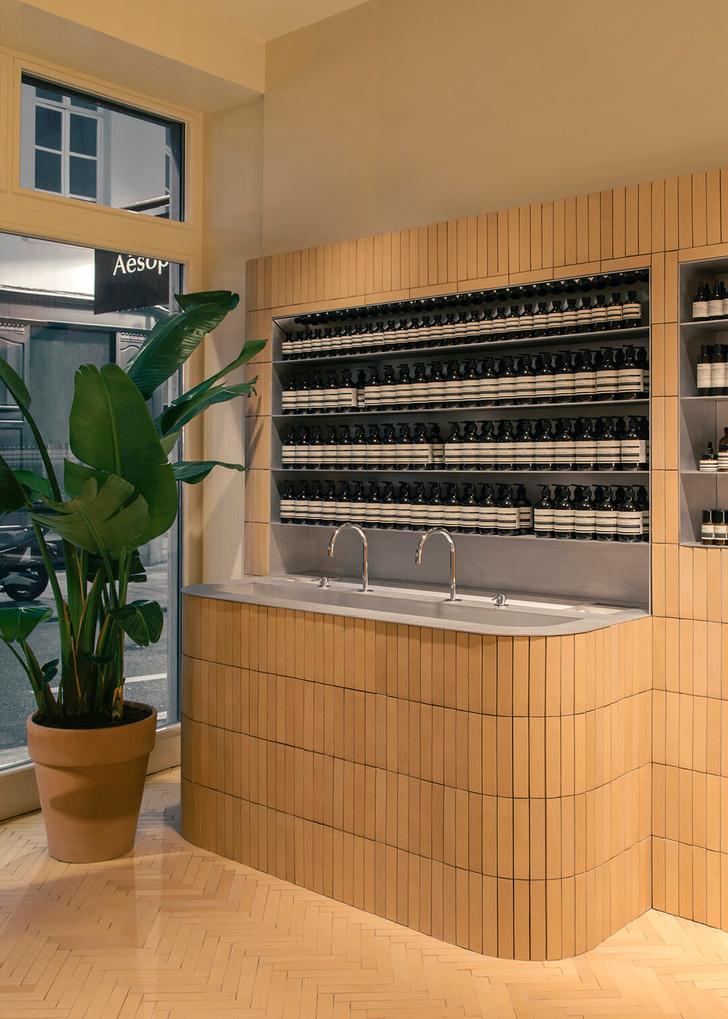 Новый бутик Aesop в Брюсселе (фото 0)