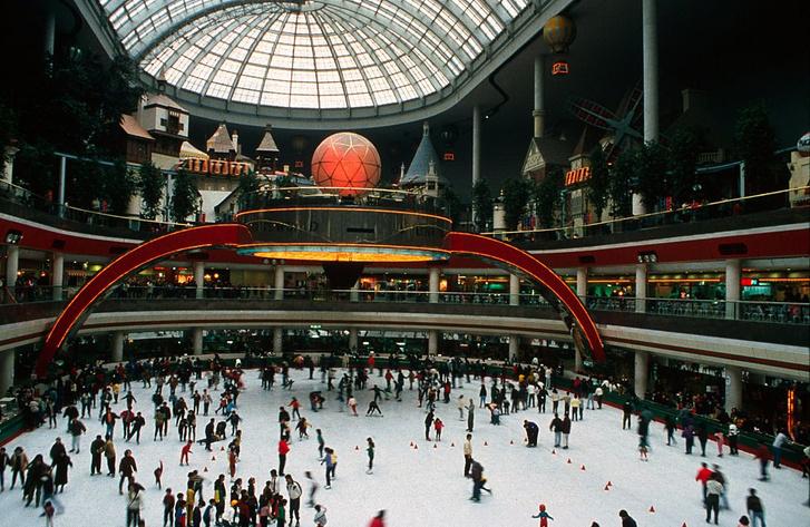 Lotte World, Южная Корея самые известные парки развлечений