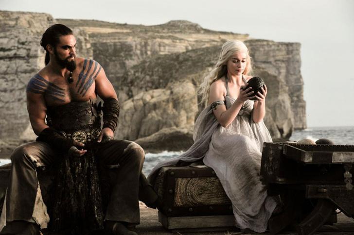 «Иры престолов» Дрого и Дейенерис Таргариен