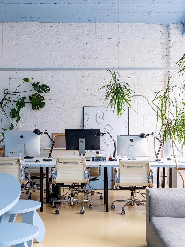Монохромный офис по проекту Гарри Нуриева (фото 15)