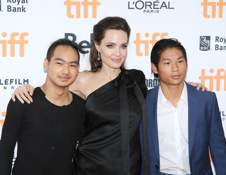 Между детьми Анджелины Джоли назревает конфликт фото [2]