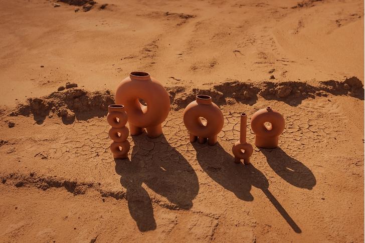Терракотовые вазы от Виктории Якуши (фото 4)