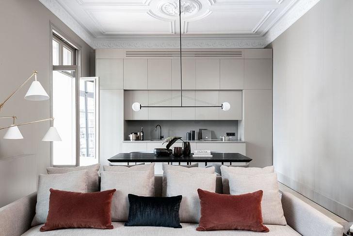 Современная квартира в доме Гауди в Барселоне (фото 4)