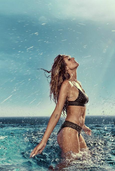 Хайди Клум кампания реклама тело фото