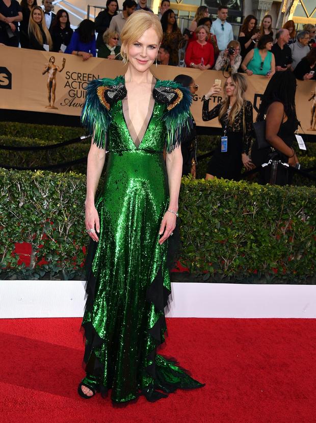 Николь Кидман в платье Gucci, 2017 год