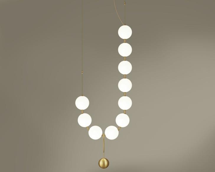 Жемчужная нить: коллекция светильников (фото 3)