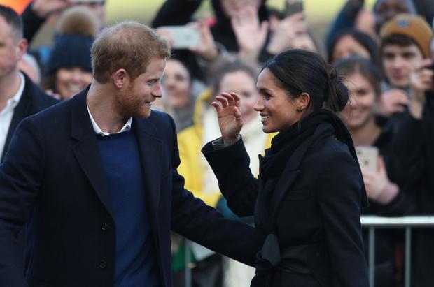 Новый выход принц Гарри и Меган Маркл (фото 5)