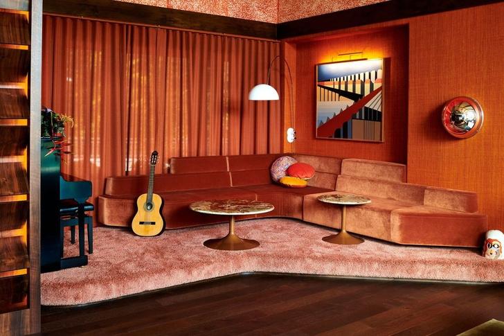 Квартира в стиле 70-х (фото 0)