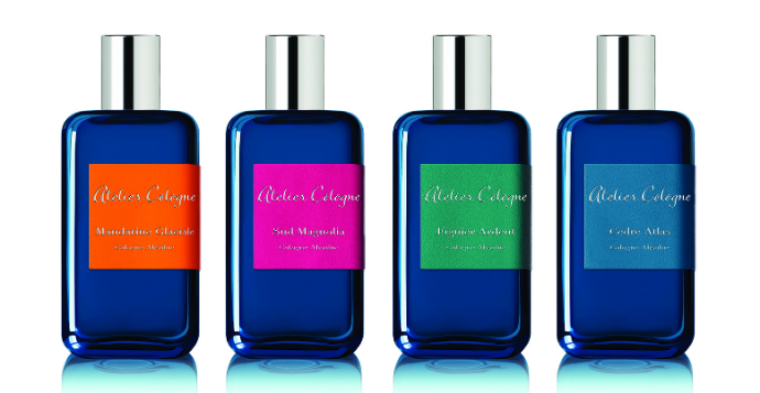 Collection Azur от Atelier Cologne