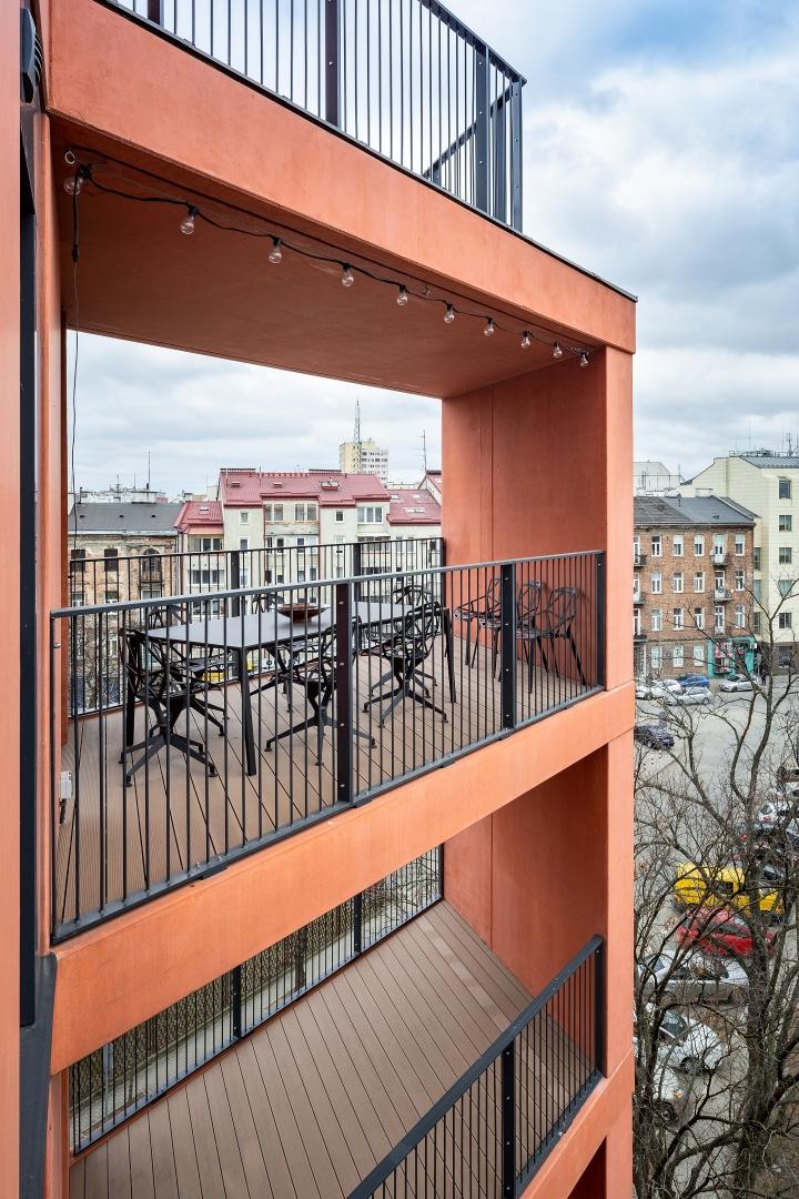 Бетонная квартира 55 м² архитектора Пшемо Лукашика в Варшаве (фото 6)