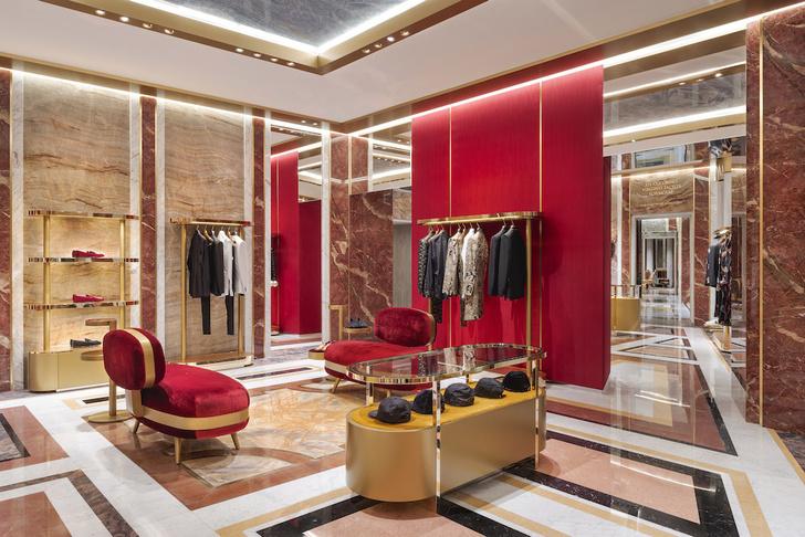 Экстравагантный бутик Dolce&Gabbana в Риме (фото 3)