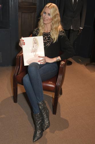 Клаудия Шиффер представила свою книгу в Лондоне (фото 1)