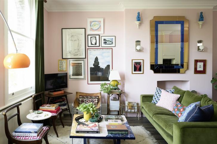 Легкость бытия: лондонская квартира Люка Эдварда Холла (фото 2)