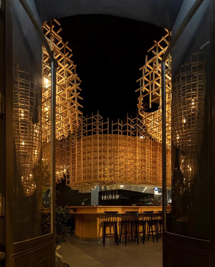 Лапшичная в Лиссабоне по проекту JCFS Architects (фото 3)