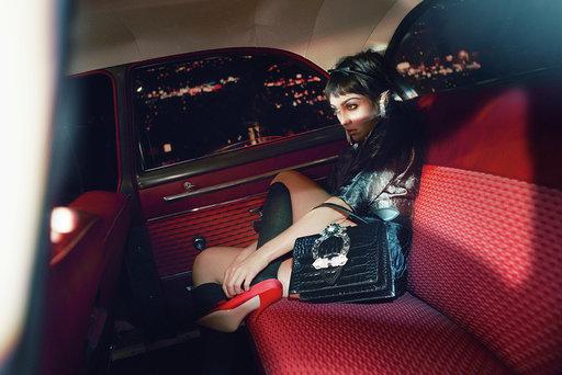 Маршрут построен: обворожительные дочери Мадонны и Умы Турман в рекламе Miu Miu (фото 1)
