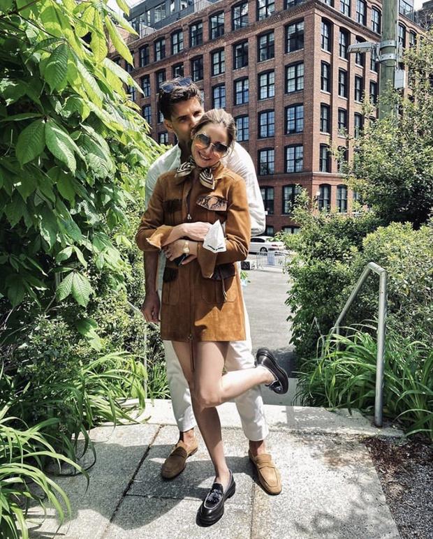 Самая стильная пара Нью-Йорка: Оливия Палермо и Йоханнес Хьюбл (фото 2)