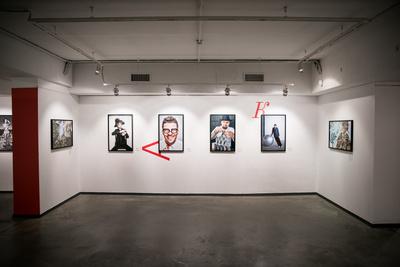 Матильда Шнурова и другие гости открытия выставки «Faces» (галерея 9, фото 0)
