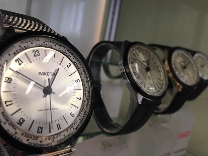 часы, наручные часы, часы Ракета
