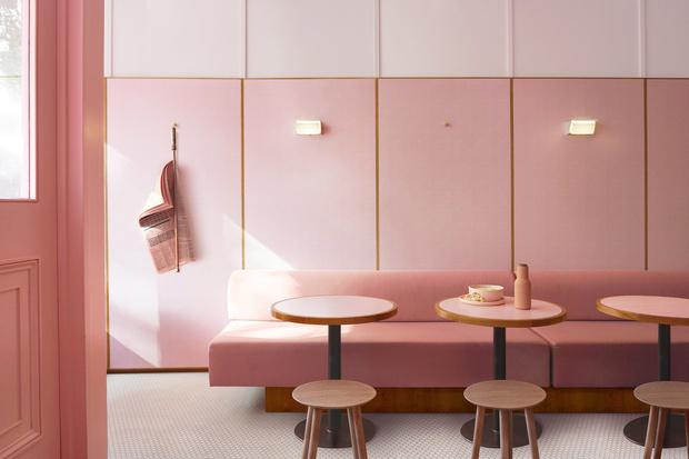 Розовая закусочная в Лондоне (фото 2)