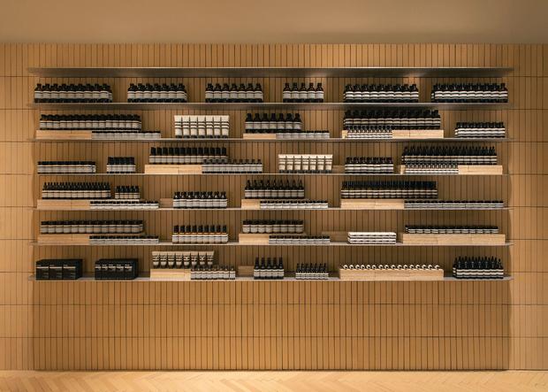 Новый бутик Aesop в Брюсселе (фото 2)