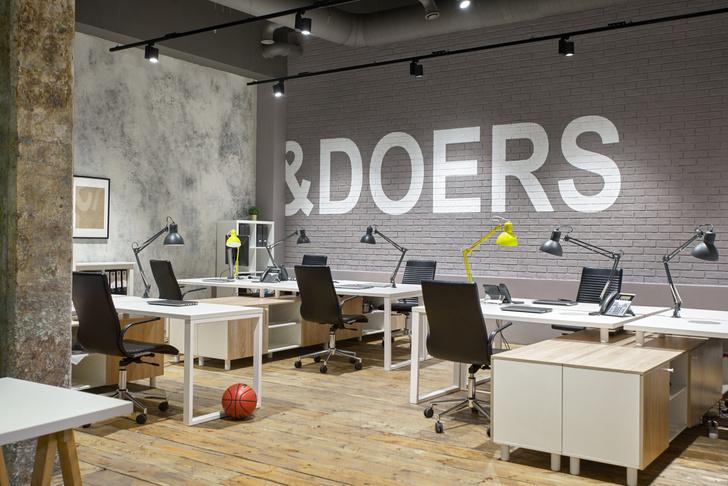 Офис в стиле лофт по проекту Алексея Толкачева (фото 16)