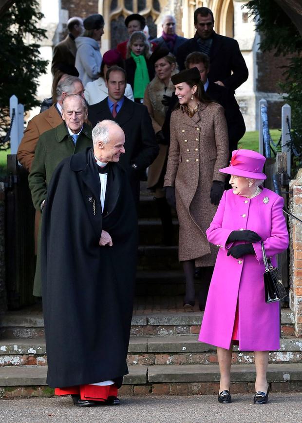 Королева Елизавета II: фото 2014