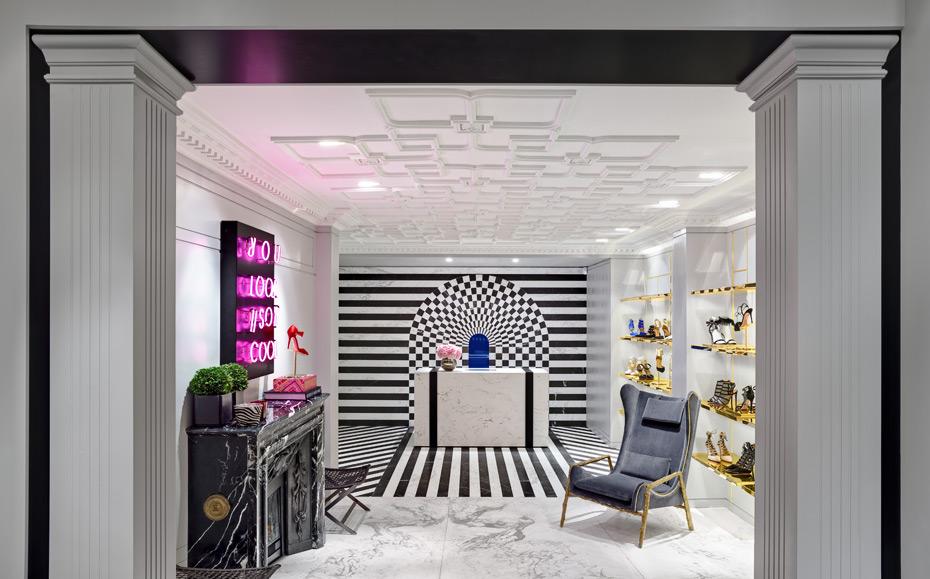 В Лондоне открылся первый флагманский магазин Aquazzura   галерея [1] фото [5]