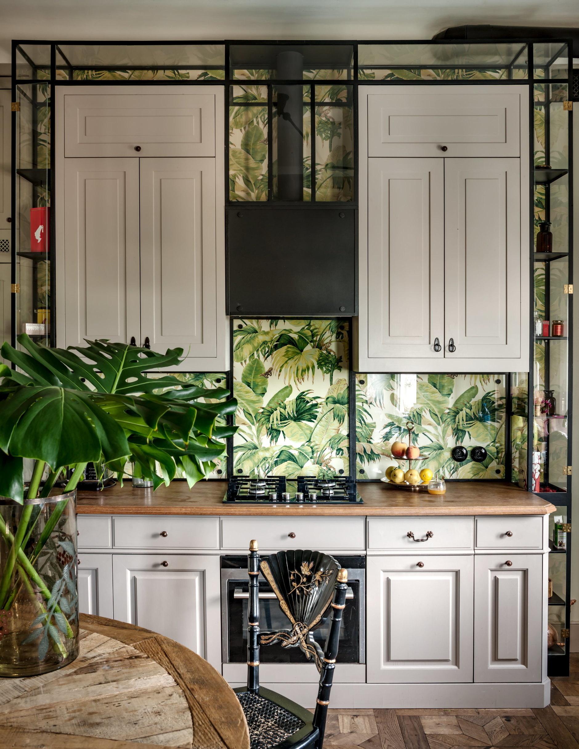 Обои на кухне: 10+ свежих идей (галерея 0, фото 0)
