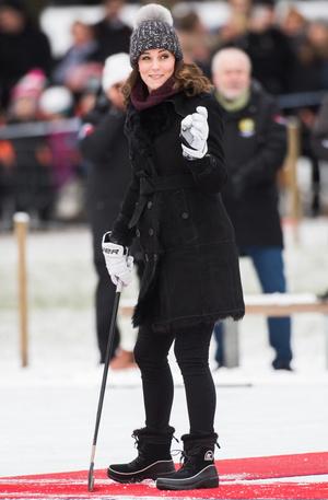 Кейт Миддлтон и принц Уильям прибыли с официальным визитом в Стокгольм (фото 3)