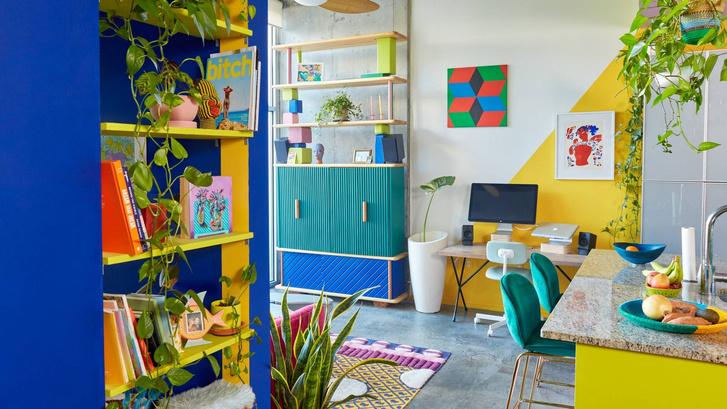 Тропический рай: дом для творческой пары в Атланте (фото 0)