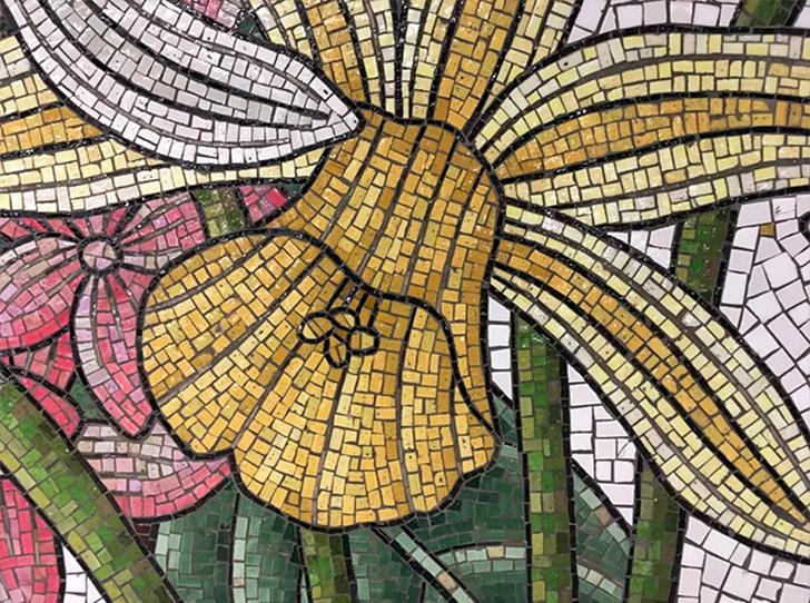 Нэнси Блум украсила мозаикой нью-йоркскую подземку (фото 10)