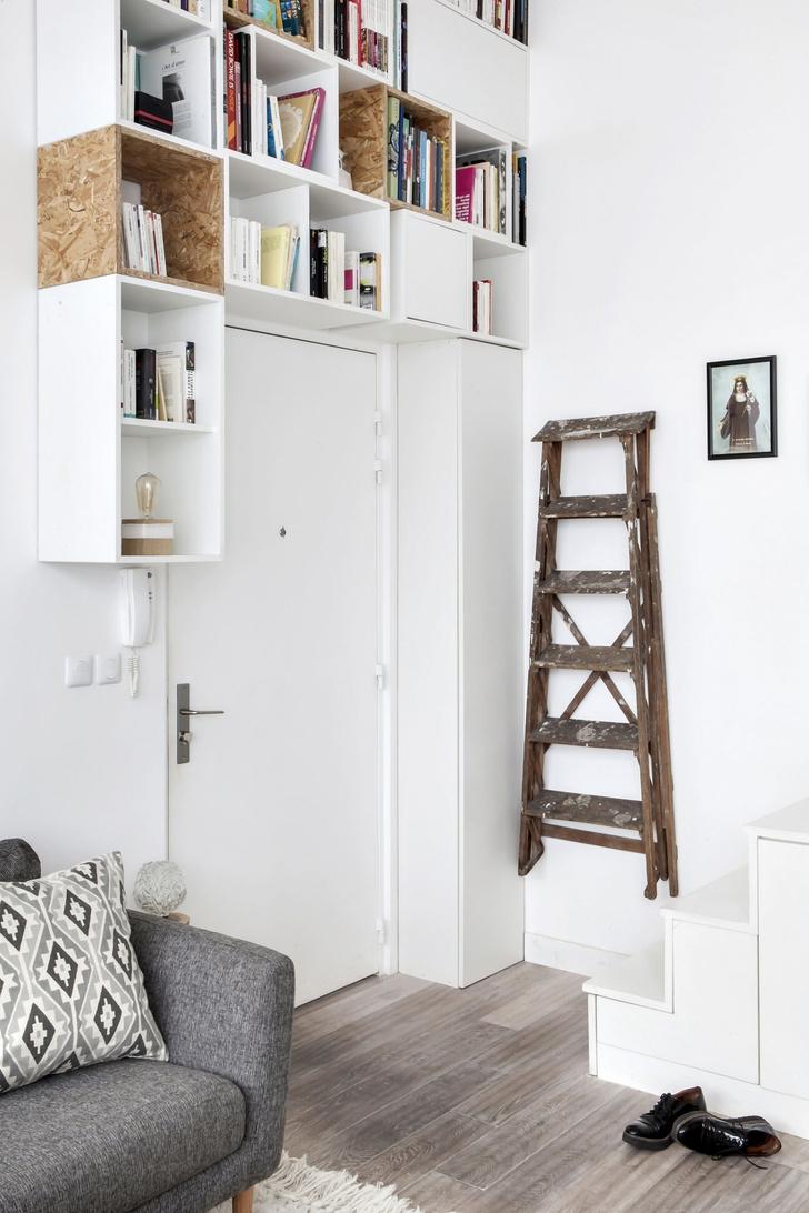 Мини-лофт с парижским шиком (фото 2)