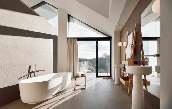 Жилец вершин: минималистский отель в Доломитах (фото 5)