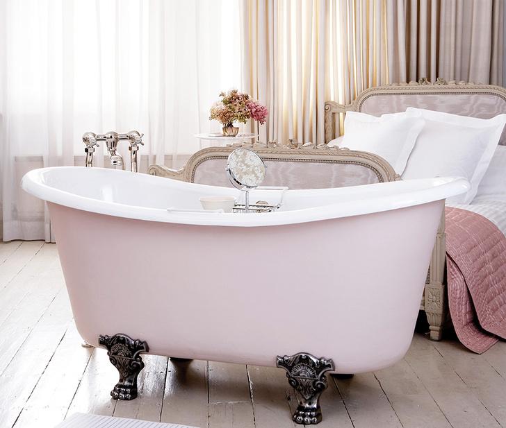 Чугунная ванна Le Bateau Foix, точная копия образца викторианской эпохи, Catchpole & Rye, салоны The English House Rosbri.