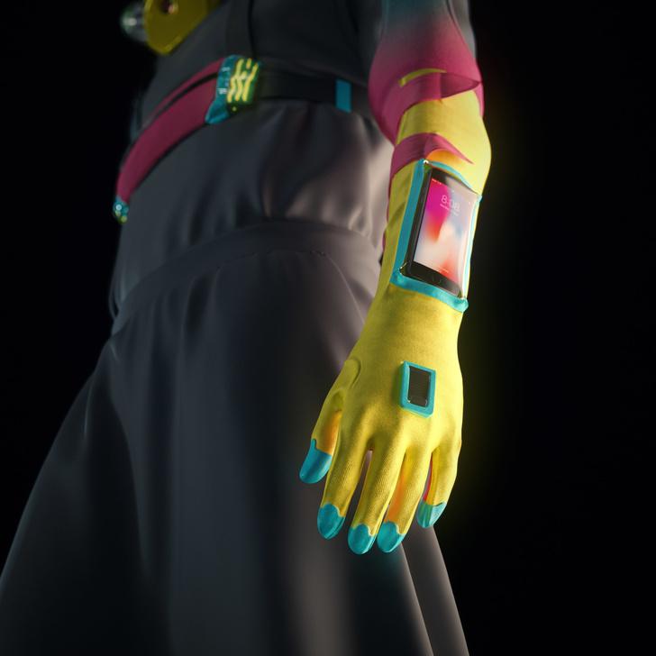 проект защитного костюма для вечеринок (фото 6)