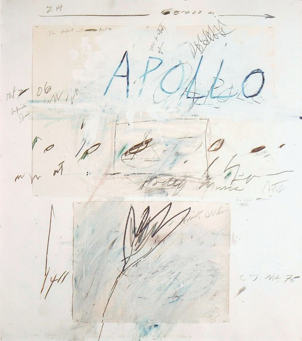 Готовый проект: кабинет по мотивам работы «Аполлон и Художник» (фото 1)