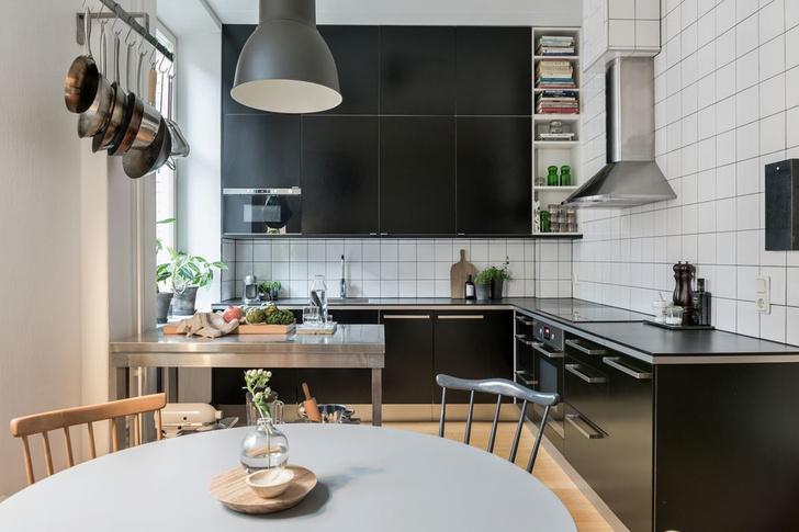 Образцовая скандинавская квартира 140 м² (фото 18)
