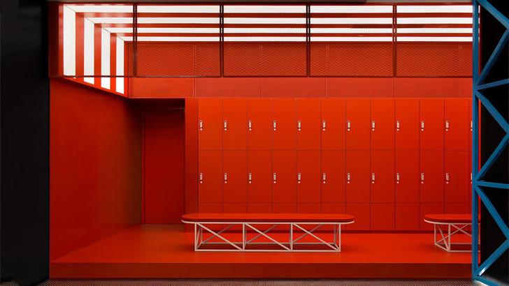 Яркий спортивный клуб в Китае (фото 0)