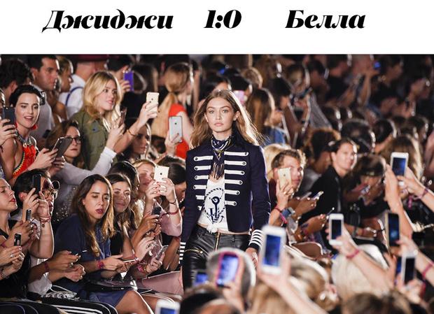 Модная битва: Джиджи против Беллы